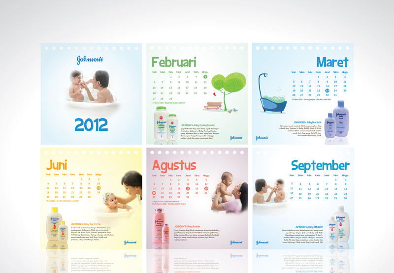 Baby Calendar Design : Johnson s baby calendar by gezl on deviantart