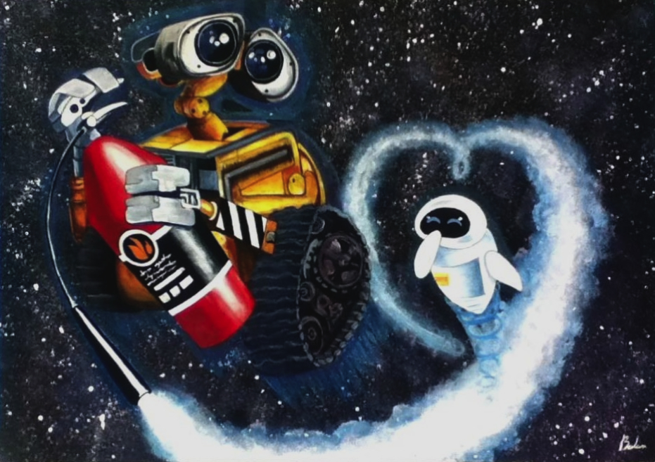 WALLE AND EVE by balamart on DeviantArt