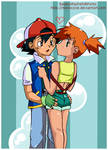 ash and misty C: