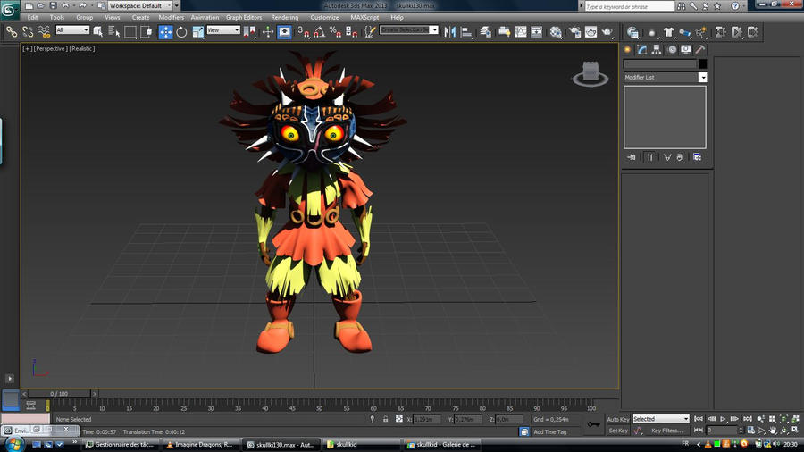 Skull Kid test by Rwanlink