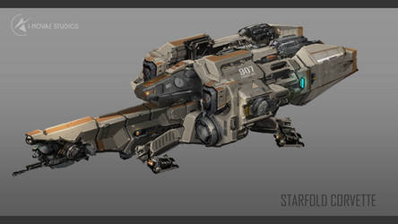 Infinity -  Starfold Corvette Final Concept
