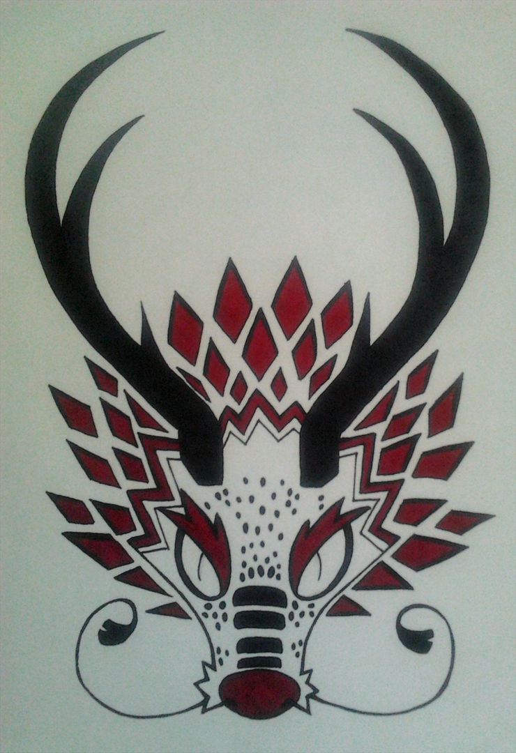 Dragon head thing by Chigle