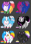 pride doggos adopts [ OPEN ] price lowered