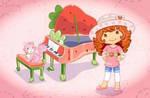Strawberry Shortcake's Piano