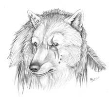 random werewolf by realWolfshade