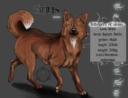 Wolfszeit-Sirius by realWolfshade