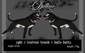 Dalkur sheet 1 by realWolfshade