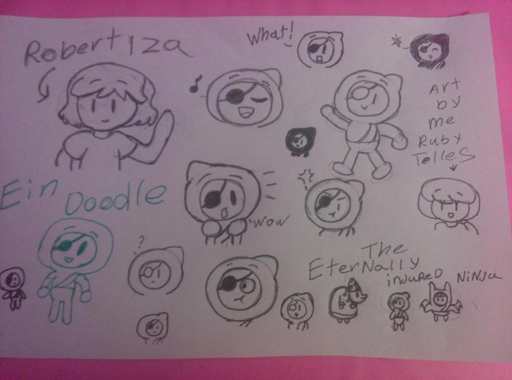 robert Iza ein doodle by bigbob101