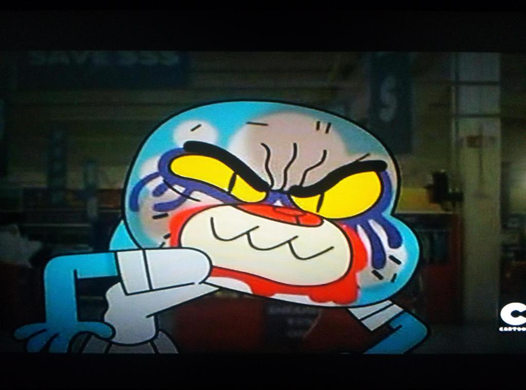 Amazing world of gumball nicole angry