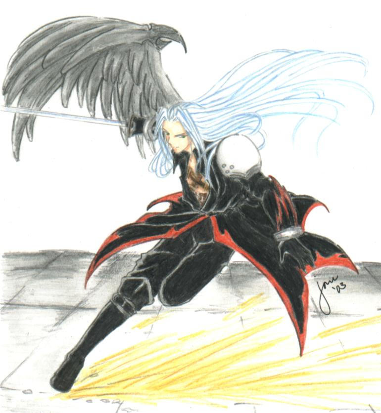 Sephiroth Kingdom Hearts Cosplay Kingdom Hearts Sephiroth by