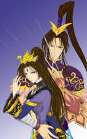 Zhang He and Zhen Ji by touga