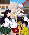 Sesshoumaru's A Bully