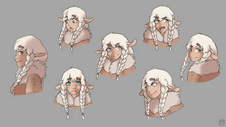 [Project] Nima facial expressions by Akaii-Tsukii