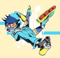 Jet Set Tracer by Cuddlep00p