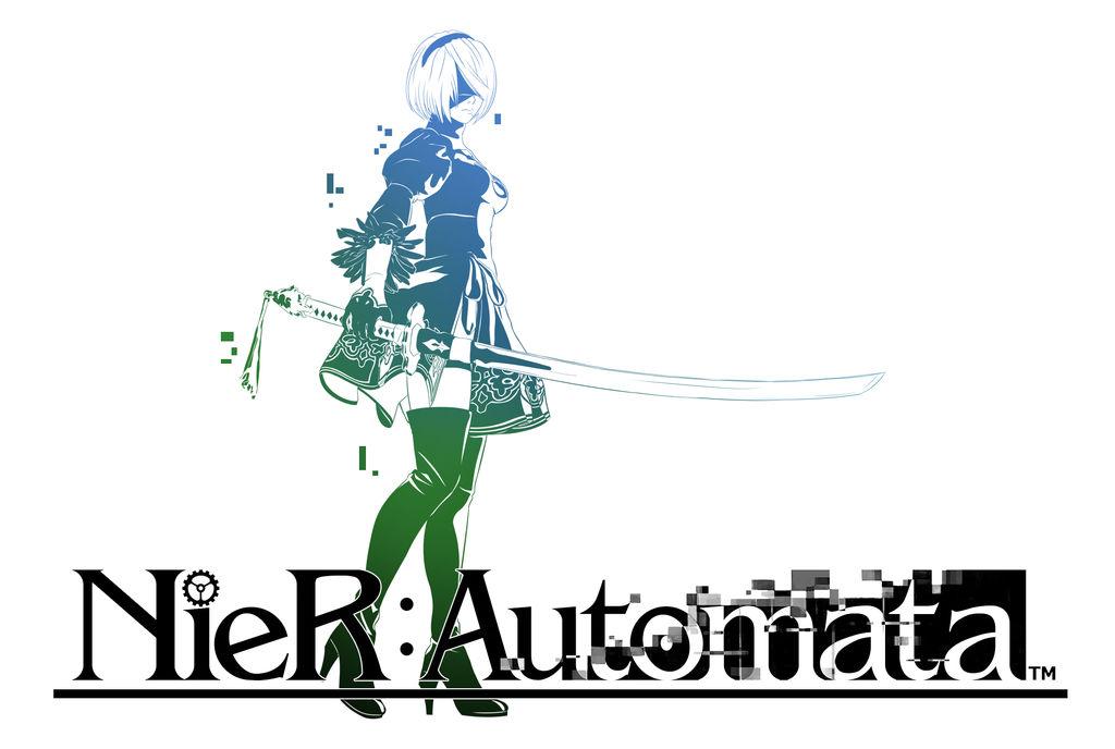 Nier Automata Final Fantasy Logo by Cuddlep00p