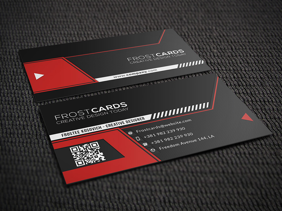 Creative business card no4 by frosteeish on deviantart creative business card no4 by frosteeish reheart Image collections