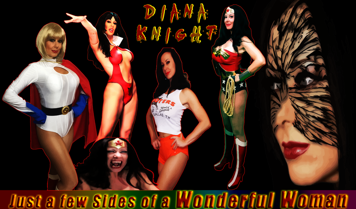 Some Characters of the Fabulous Diana Knight by ORcaMAn001