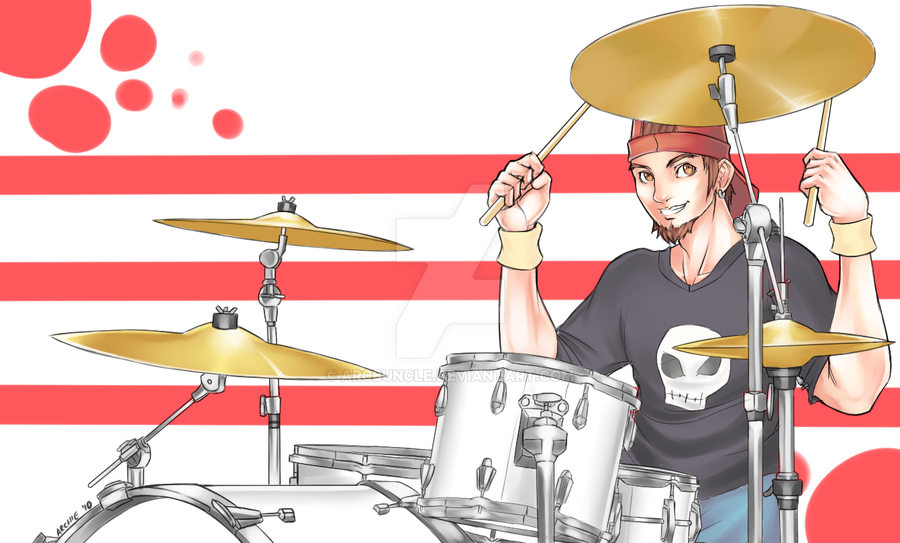 Comm Drummer Guy By Arcbuncle On Deviantart