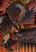 Steampunk Contest Entry by Casey-Bemis