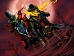 BA Color Battle 02-Gunslinger Spawn/Ghostrider