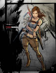 Tomb Raider by Adonis-RBautista