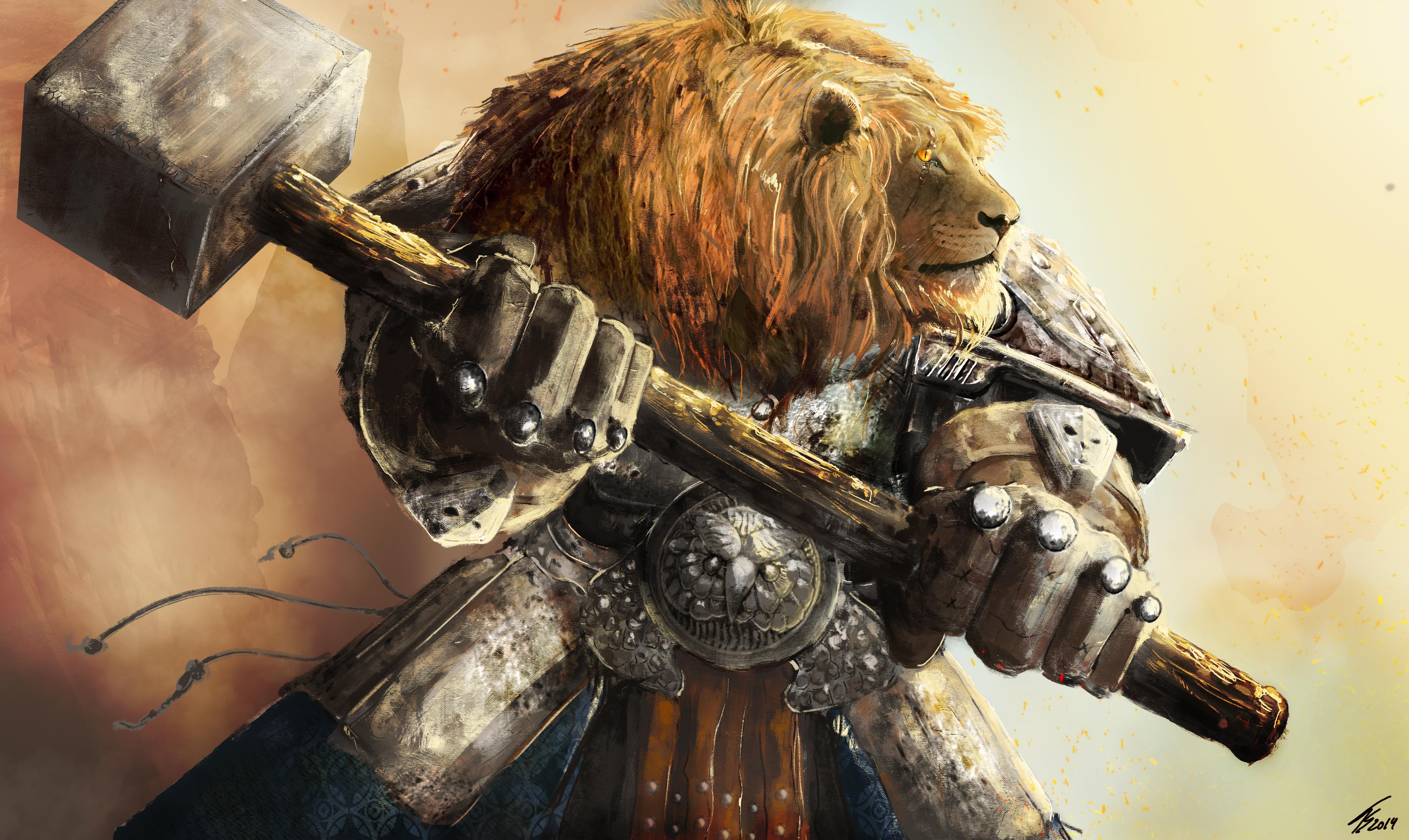 Deviantart Lion Warrior: Leonine Warrior By TiagoSilverio On DeviantArt