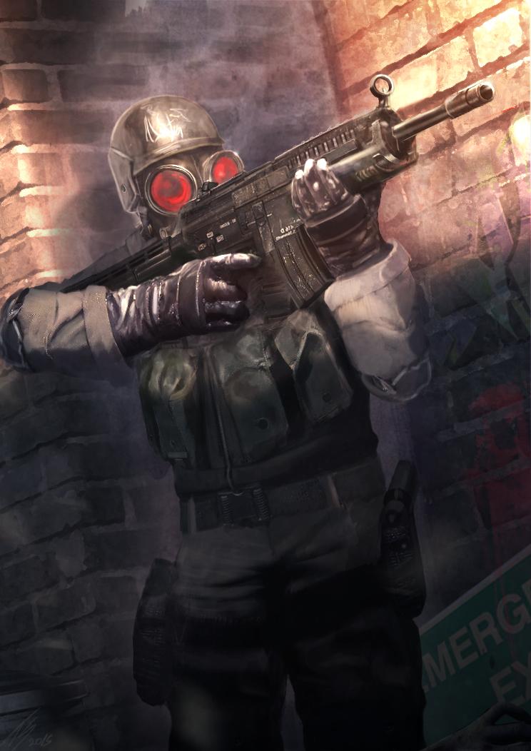 Hunk (Resident Evil fanart) by TiagoSilverio on DeviantArt