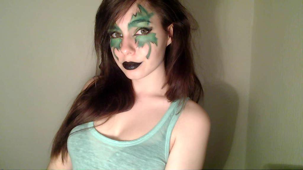 World of Warcraft - Night Elf Makeup by Pooflower on DeviantArt