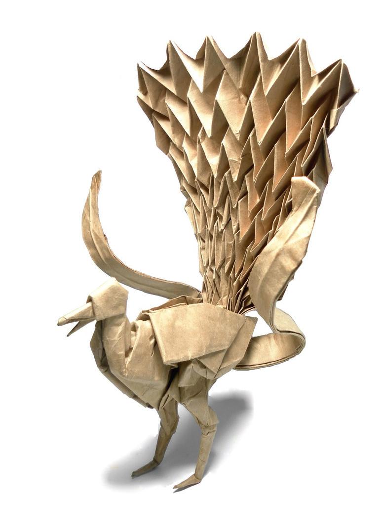 Lyrebird 70 x 70cm by AbrahamMardini