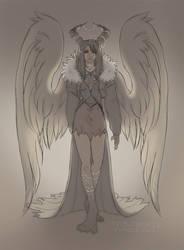 Sorceress Rinoa by skribleskrable