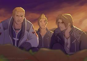 Squad B by skribleskrable