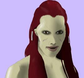 Wraith Queen Sally by Hellraiser-89