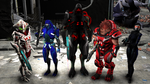 Mass Effect Multiplayer - My platinum team