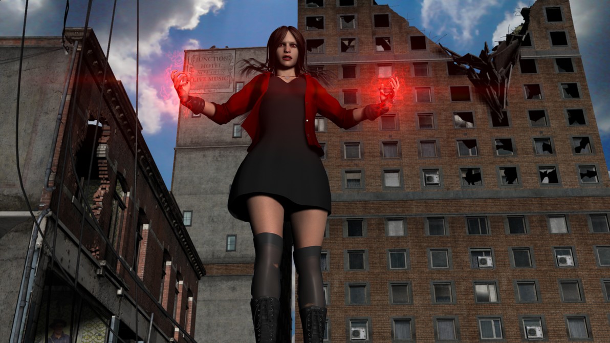 Scarlet Witch - Age of Ultron by Hellraiser-89