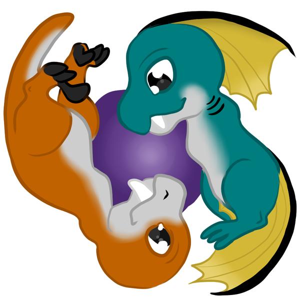 Raid n Blaid ying yang thing by guilleum2