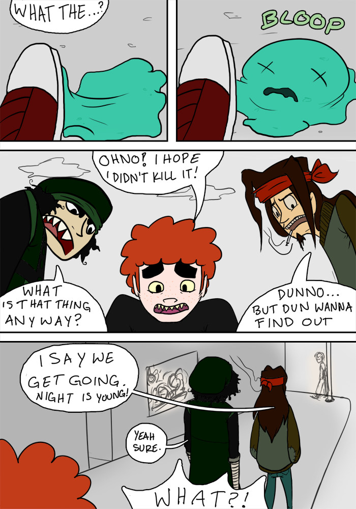 Beo vs Slime Pg 3 by LuckyNothin