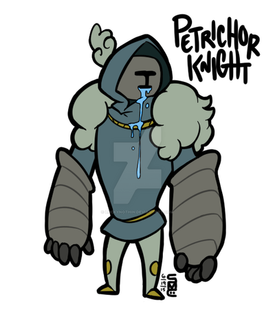 Petrichor Knight by LuckyNothin