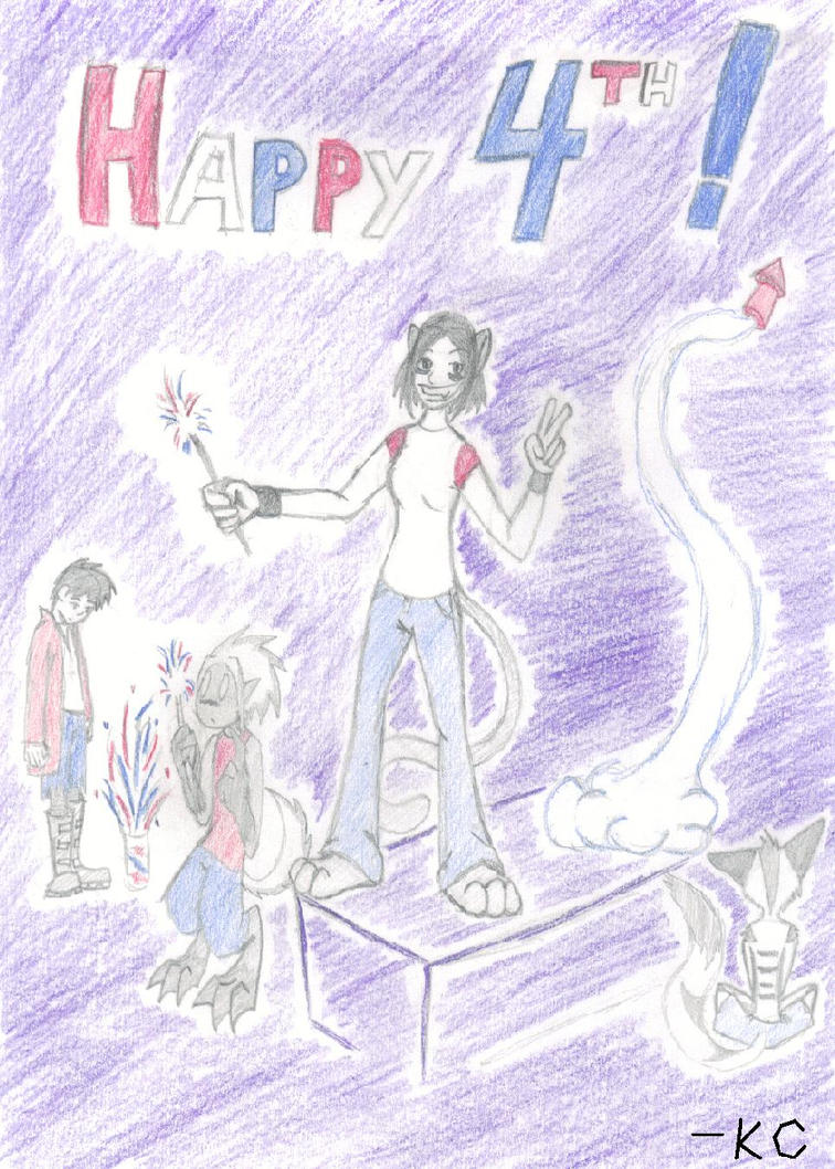 Happy 4th by LuckyNothin