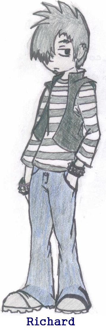 Concept Sketch of Richard by LuckyNothin