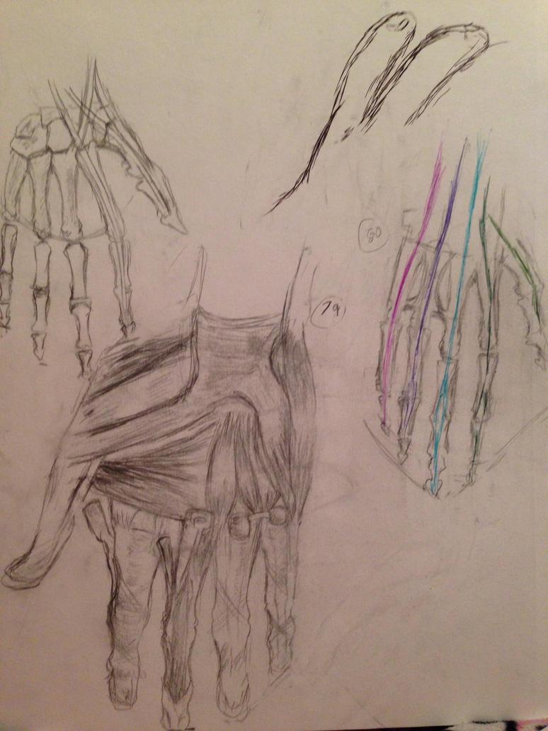 100 Hands: 78-80 by SaturnSirene