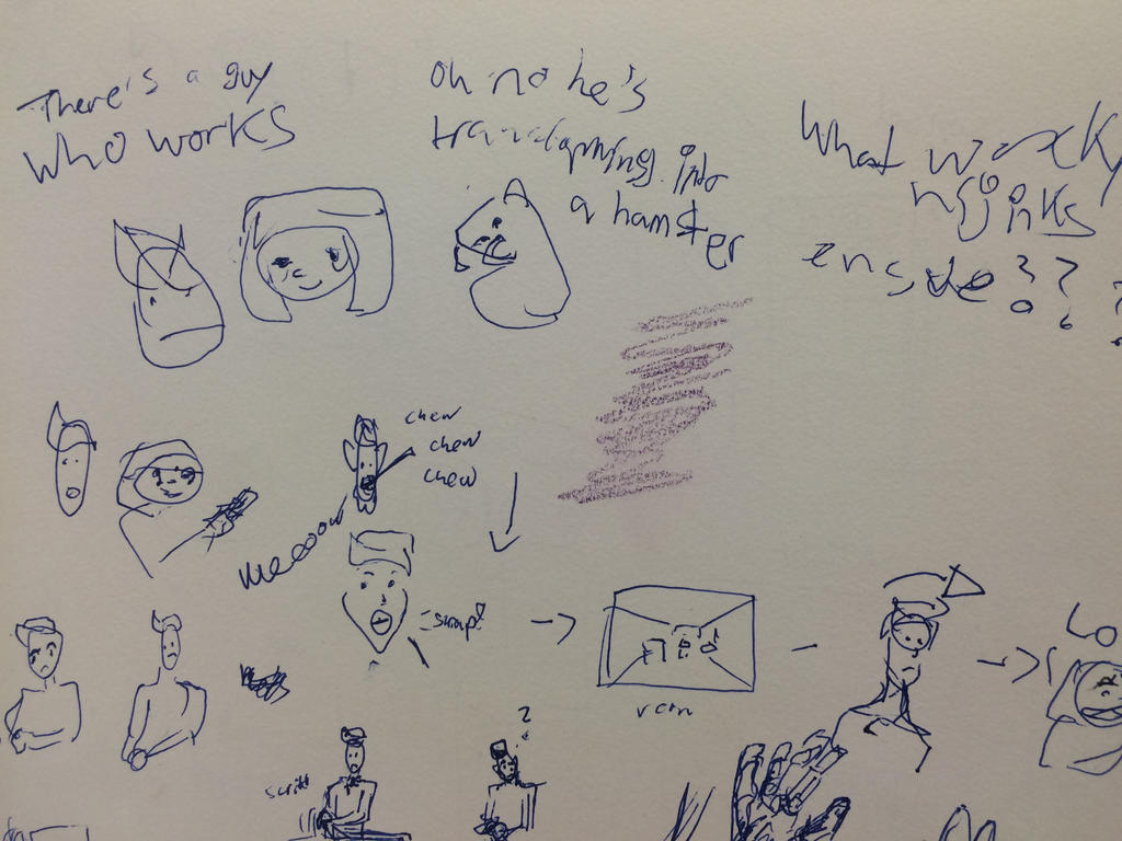 storyboard thumbnails by SaturnSirene