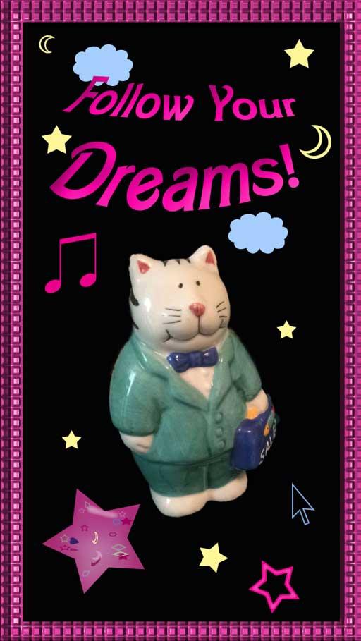 Follow Your Dreams iPhone 5 bg by SaturnSirene