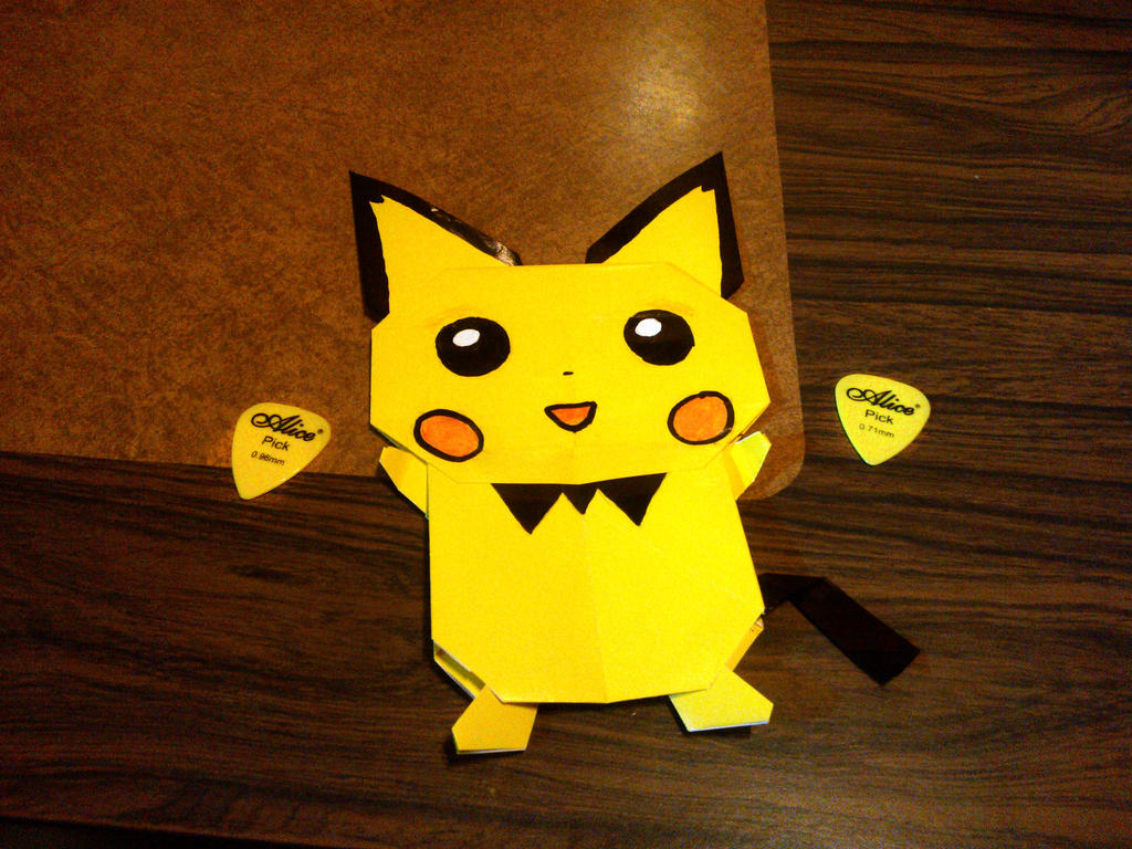 Origami Pichu By Axel230