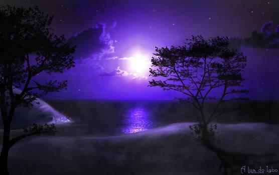 A lua do Lobo