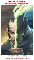 Dr. Jekyll and Mr. Hyde COVER by dannlord