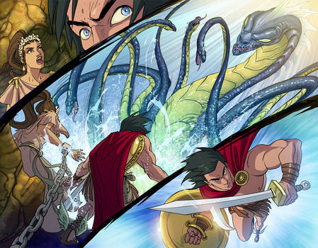 Perseus VS the Sea Monster