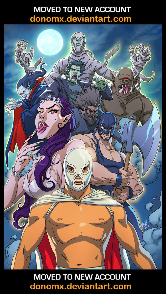 El Santo vs Everyone by dannlord