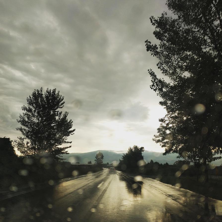 the first rain by mihmann