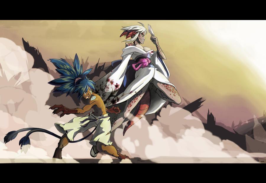 Commission: Ashkanina by Tamura