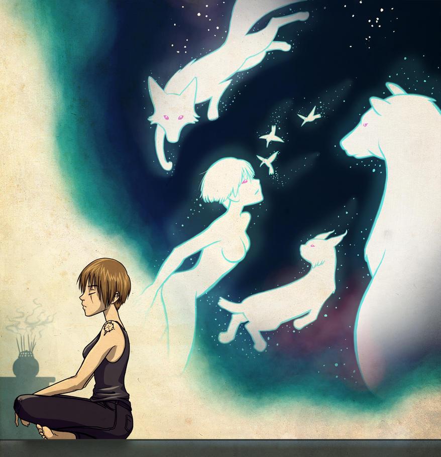 Spiritual Journey by Tamura